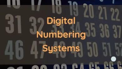 digital number system