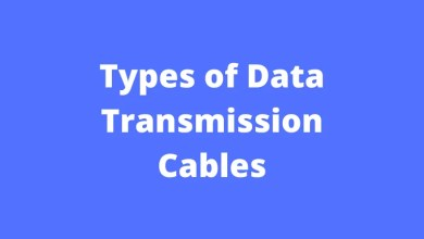 Types of Data Transmission Cables