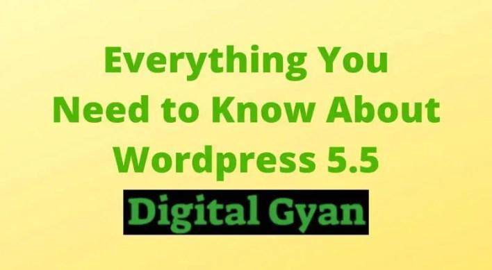 "The New WordPress 5.5 ""Eckstine"" is Here"