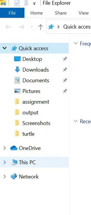 this pc menu option