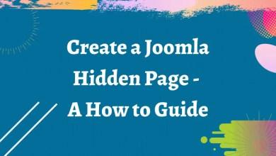 create a joomla
