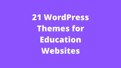 21 WordPress Themes for Education Websites