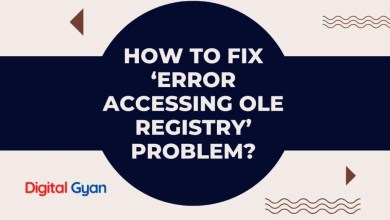How to Fix 'Error Accessing OLE Registry' Problem