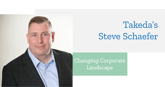 Interview: Changing Corporate Landscape with Takeda's Steve Schaefer - Nov 2018