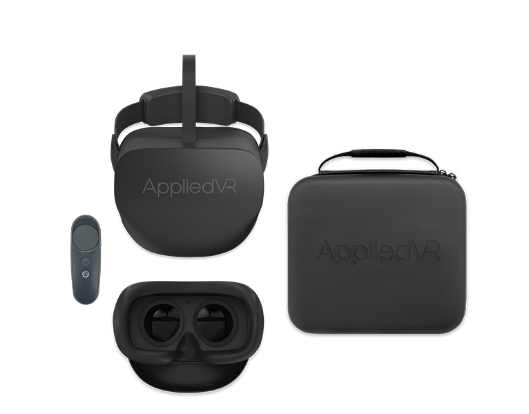 AppliedVR provides virtual reality (VR) based treatments aimed at comprehensively treating chronic pain