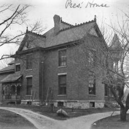 The President's House, where Adelaide lived starting in 1919.