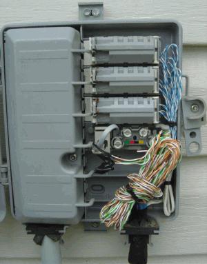 telephone plug wiring diagram house lights warning t he phone company
