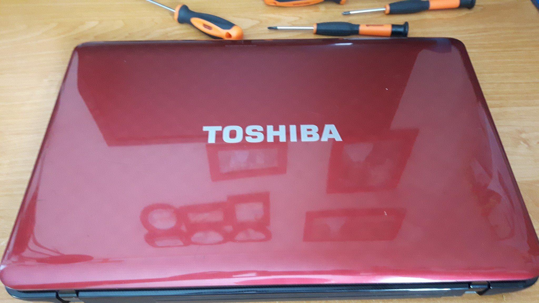 Serwisowanie laptopów toshiba