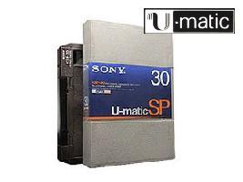 U-matic SPprofessionele videobanden digitaliseren