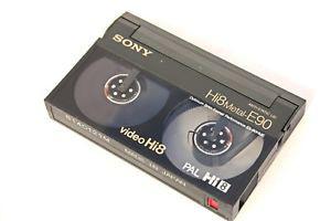 Hi8 videocamera bandjes digitaliseren