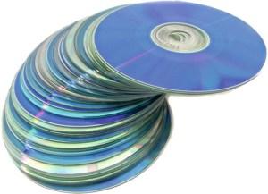 Opslag digitale bestanden op DVD en CD