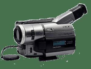 Digital8 videocamera bandjes digitaliseren