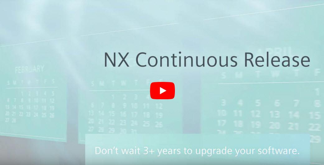 NX folyamatos frissítésű verzió
