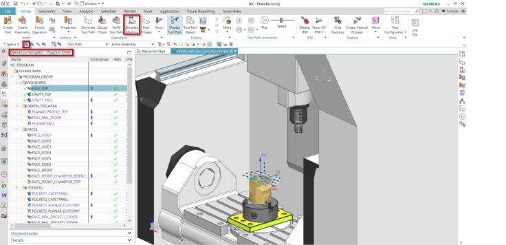 Szerszámgép szimuláció