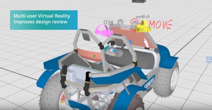 (NX Virtual Reality) alapon működő terv ellenőrzés
