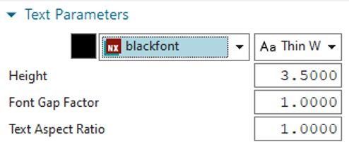 NX-es betűkészlet használata gravírozáshoz NX1980-ban