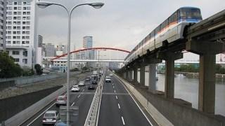 東京モノレール沿線。天空橋~整備場をカメラ散歩。