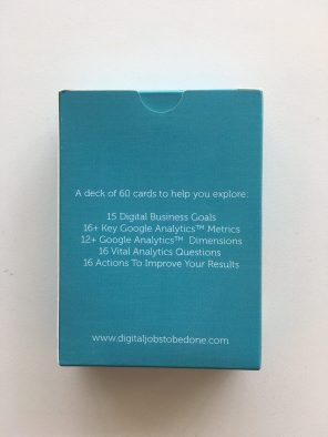 Reverse of Analytics Cards box