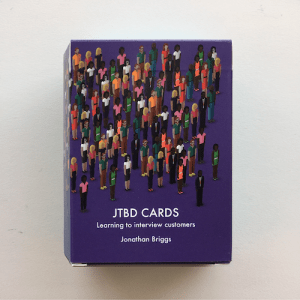 JTBD Cards