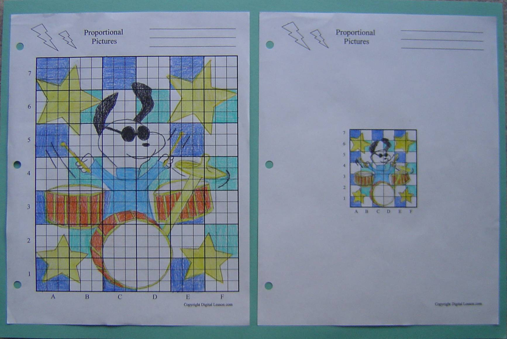 Proportional Relationships Math Project And Lesson