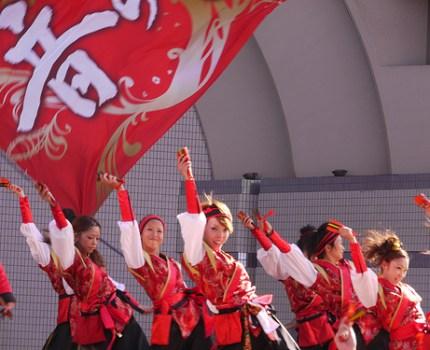 原宿表参道元氣祭スーパーよさこい2010見てきました