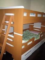 子供部屋と二段ベッド