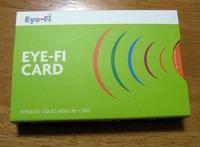 デジカメを無線LAN対応にするEye-Fi Card