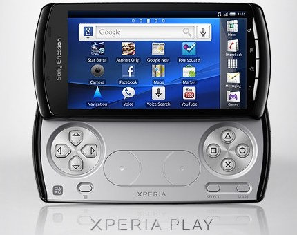 PlayStation Androidスマートフォン Sony Ericsson XPERIA PLAY