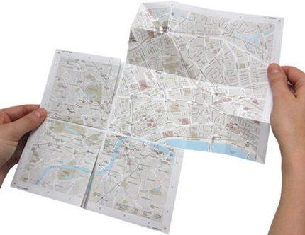 map2 ズームできる紙の地図