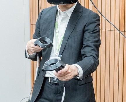HTCのルームスケールVR「HTC VIVE」を体験 #HTCサポーター