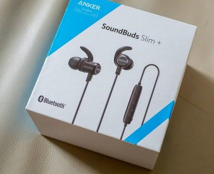 コスパの良いコードレスイヤホン Anker SoundBuds Slim+