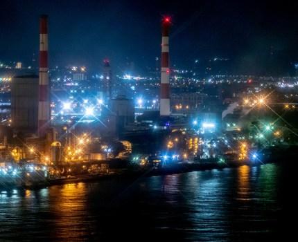 #千葉ポートタワー からの #工場夜景萌え #こぶツアー