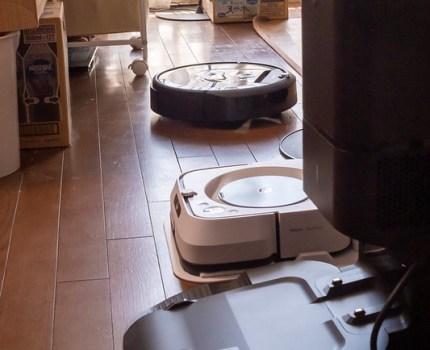 「掃除して!」で掃き掃除&拭き掃除をしてくれる ブラーバジェットm6 & ルンバi7+ #アイロボットファンプログラム #掃除の常識を変える #拭き掃除の新たな歴史はじまる