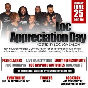 Loc Appreciation Day 2016