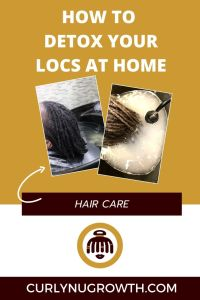 How to Detox Your Locs At Home