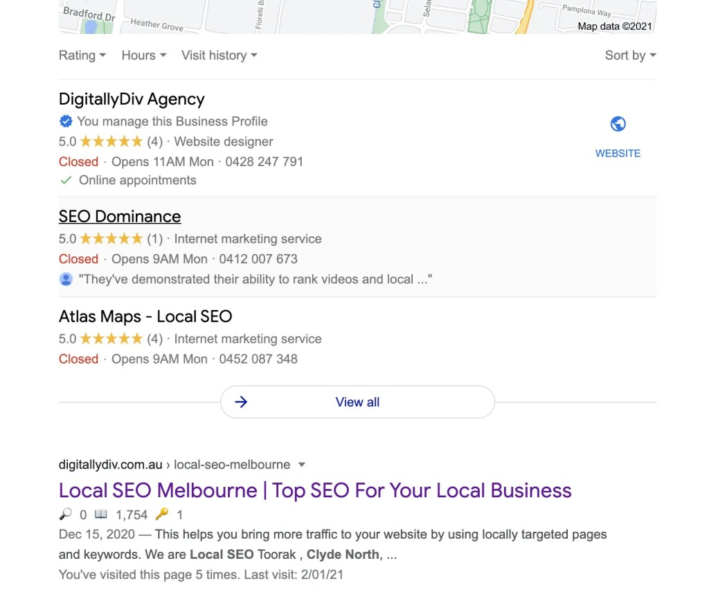 Local SEO Clyde North