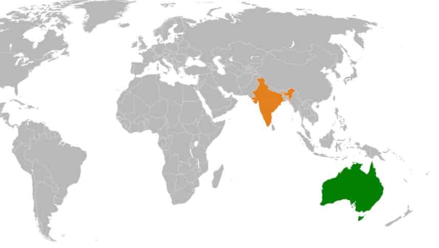 Australia India Map.India Australia International Relations Upsc Ias Digitally Learn