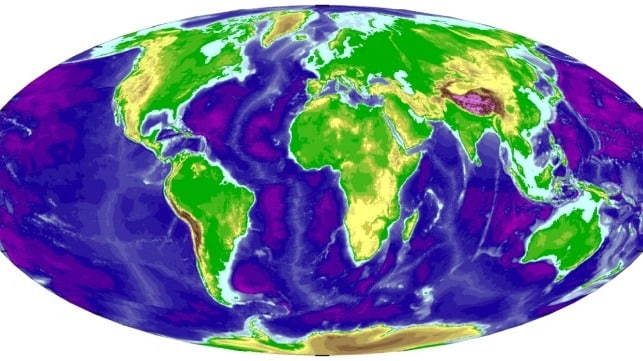 Seabed 2030 Project Bathymetric Data Map Of Ocean Floor Upsc Ias Pcs