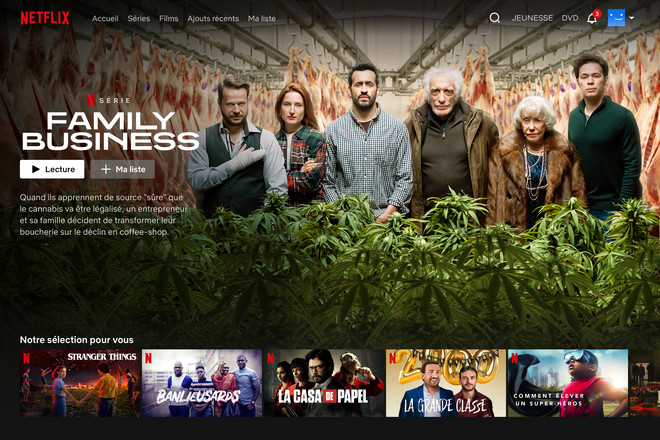 Illustration Netflix PC