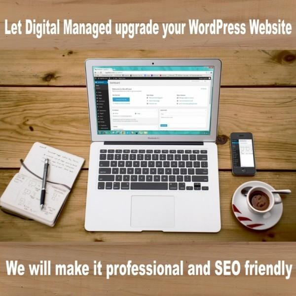 Website updated by Digital Managed