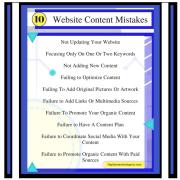 10 Web Marketing Mistakes To Avoid