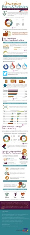 Amazing Facts and Statistics about Social Ads (Infographic) - An Infographic from Digital Marketing Philippines