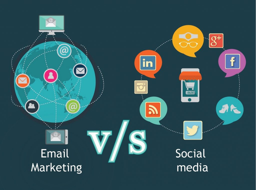 Email-Marketing-vs-Social-Media-vibewebsolutions