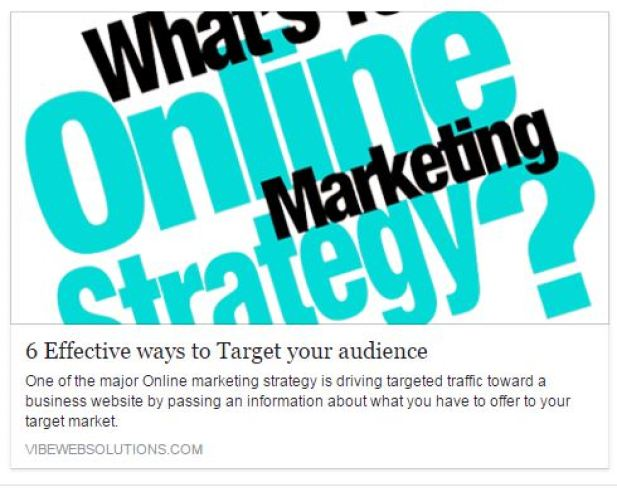 How to use Facebook to drive traffic online