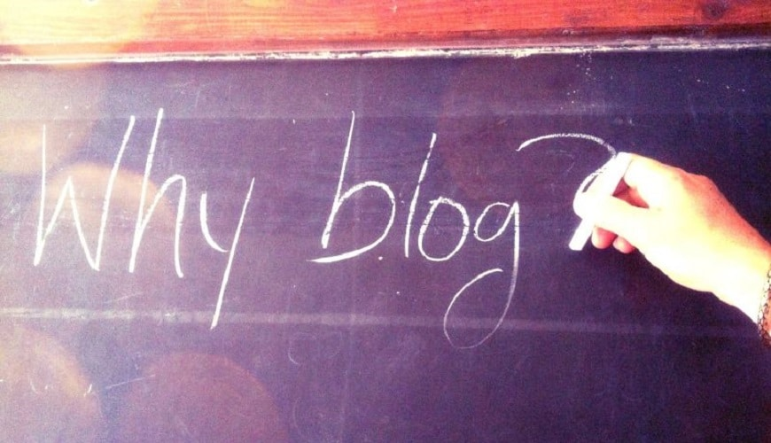 Reasons why You Should start Blogging.