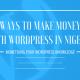 Ways to make money with WordPress in Nigeria