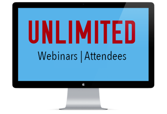 Webinarjam Unlimited Number of attendess