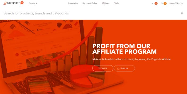 payporte affiliate marketing program in nigeria
