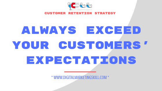 CUSTOMER RETENTION STRATEGY
