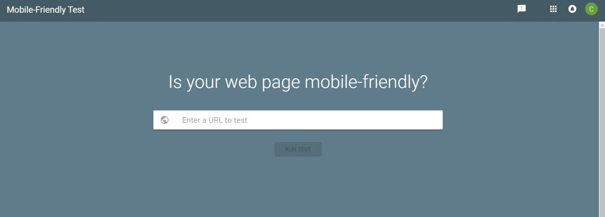 Mobile-Friendly Test - Google Search Console